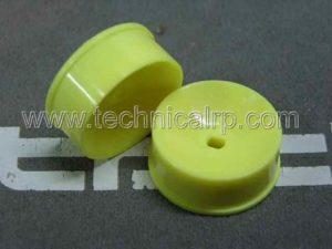 Llanta Lentic Frontal 3.5 para miniz 4x4 Amarillas