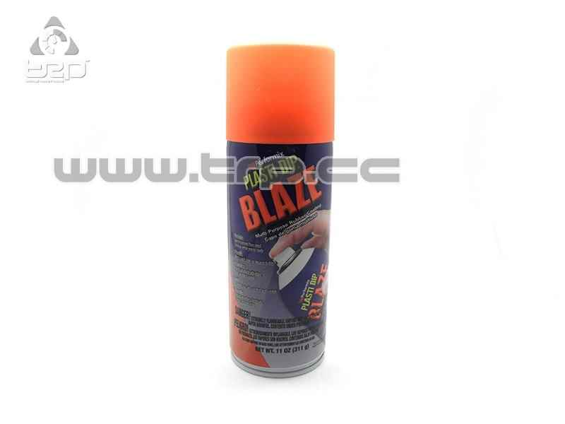Plastidip Liquid Vinyl Orange Fluorescent Cone