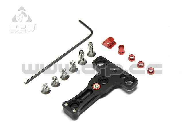Placa suspensión configurable MiniZ MR03 MM/LM 102 Rojo
