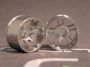 Llantas W+1 Traseras Aluminio MiniZ MR02/MR015 - D5 Radios