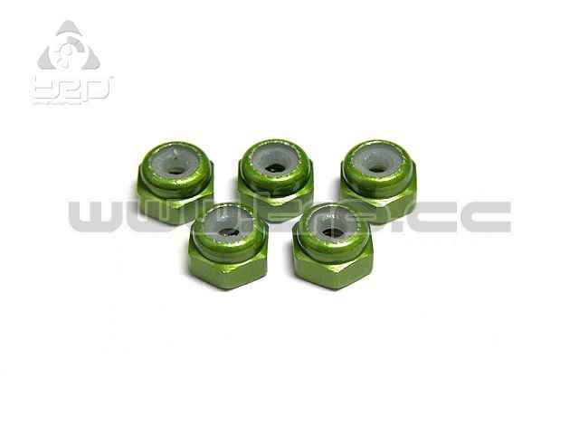 Aluminium Lock nuts for Mini-Z Monster