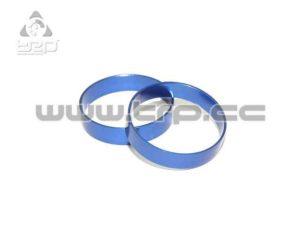 PN Racing Aro exterior para llanta Trasera en aluminio Azul