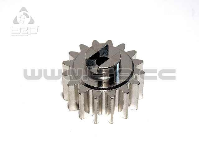 GPM Steel pinion 16T (+5mm wide) for HPI Baja 5B