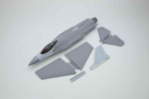Kyosho DF-55 Fuselaje/MainWing/TailWing