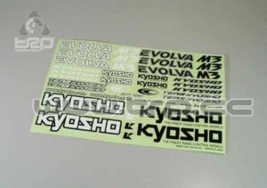 Adhesivos Kyosho Evolva M3