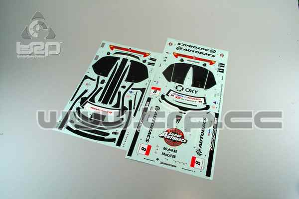 Stickers Kyosho Pure Ten Honda ARTA NSX GT500 2007
