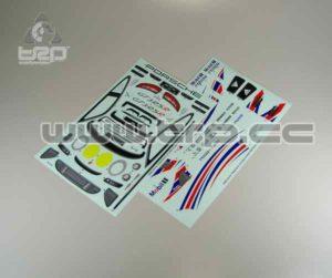 Adhesivos Carrocería Kyosho Pure ten Porsche 911 GT3