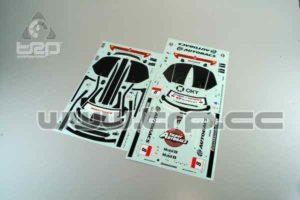 Adhesivos Kyosho Pure Ten ARTA NSX GT500 2007