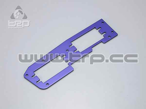 Kyosho Inferno MP7 Radio Plate (Blue)