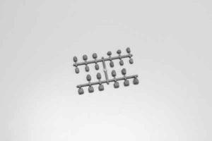 Kyosho Inferno MP9 Set de espaciadores o casquillos