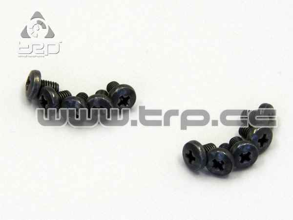 Kyosho Star Button Screws (M2.6x4)