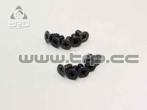 Kyosho Tapered Star Plate Screws (M2.6x6)