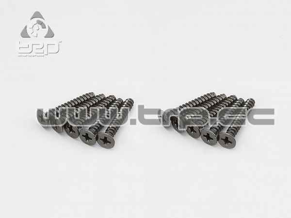 Kyosho Tapered Star Plate Screws (M4x25)