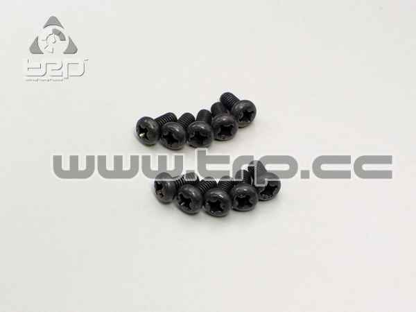 Kyosho Star Button Screws (M3x6)