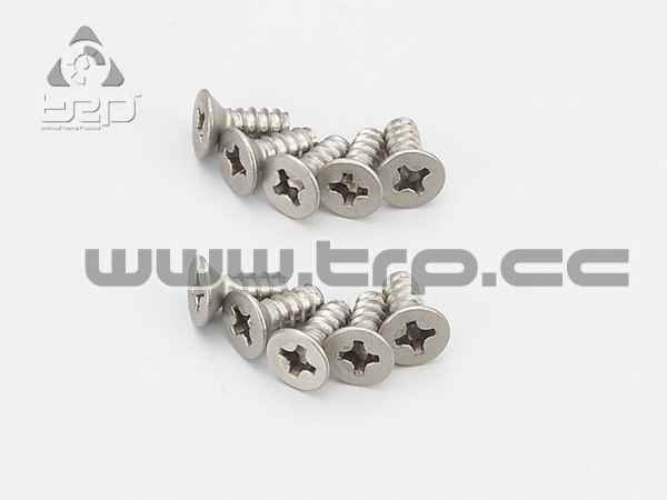 Kyosho Tapered Titanium Screws (M3x8)
