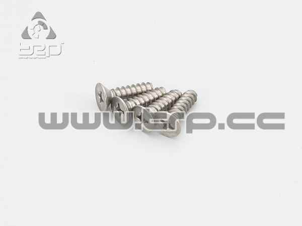 Kyosho Tapered Screws Titanium Star (M4x15)