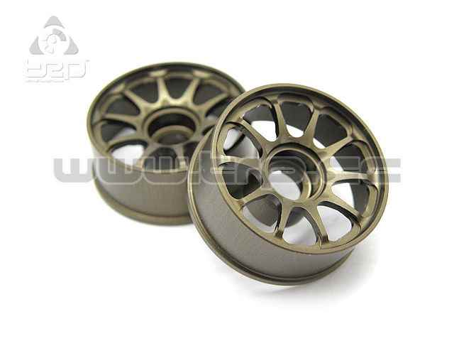 Kyosho MiniZ Route 246 RAYS Aluminum Wheel Narrow Offset 0