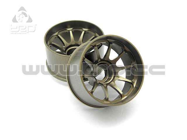 Kyosho MiniZ Route 246 RAYS Aluminum Wheel Wide Offset +2