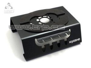 Kyosho base de trabajo en aluminio (negro) para chasis 1/10