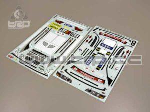 Adhesivos Carrocería Kyosho DRX Lancer Evo VII