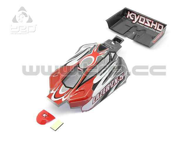 Kyosho MiniZ Buggy Lazer Body Set Red and Grey