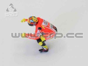 Kyosho Miniz Moto Racer Piloto Ducati V.Rossi