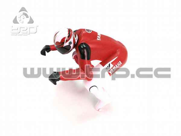Rider Figure(Yamaha / Red)(Kyosho)