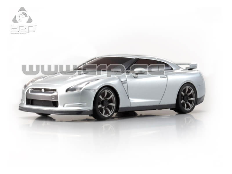 AUTOSCALE Mini-Z NISSAN GT-R R35 ULTIMATE METAL SILVER (N-RM)