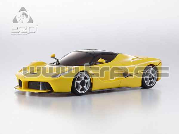 Kyosho MiniZ MR03 Sports LaFerrari ver. Amarilla - Ready to Run