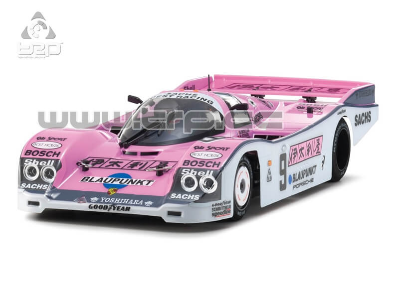 PLAZMA LM 1/12 PORSCHE 962 JOEST RACING No9 CARBON EDITION