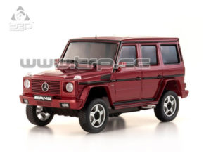 AUTOSCALE Mini-Z OVERLAND MERCEDES G55L AMG ROJO