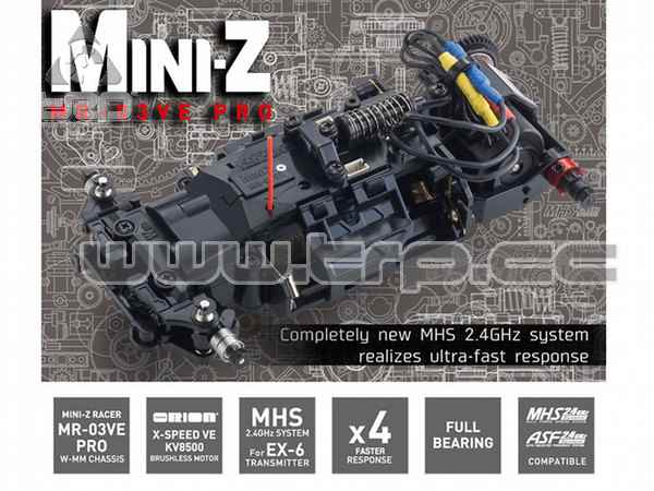 Kyosho MiniZ VE PRO Chassis Set 15th Anniversary