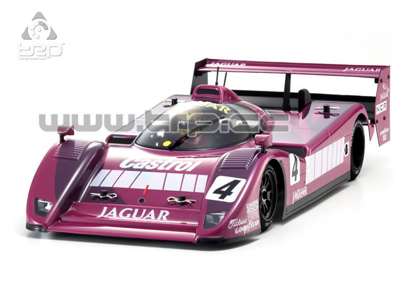 PLAZMA LM 1/12 JAGUAR XJR14 CASTROL No4 CARBON EDITION