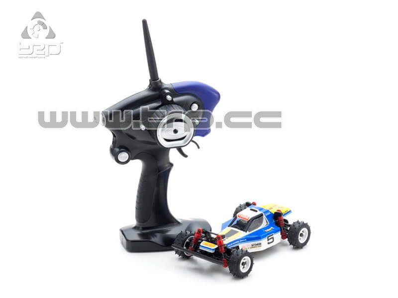 Mini-Z MB010S 4WD 1/24 OPTIMA AZUL/BLANCO - READYSET