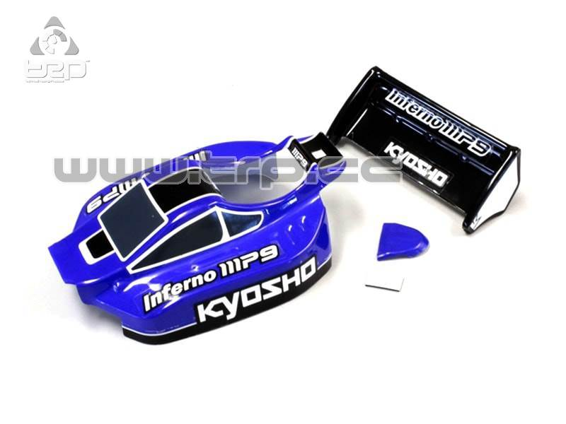 Kyosho Mini-Z Buggy Body Set (INFERNO MP9 TKI3/Blue/Black)(Kyosh