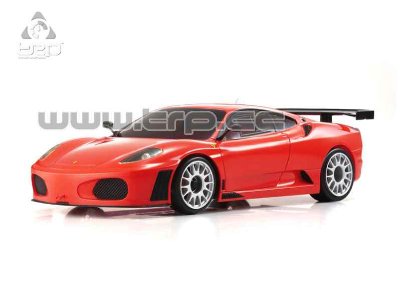 Kyosho Mini-Z MR02RM Ferrari F430 GT Test Car Body Set (Red)(Kyo
