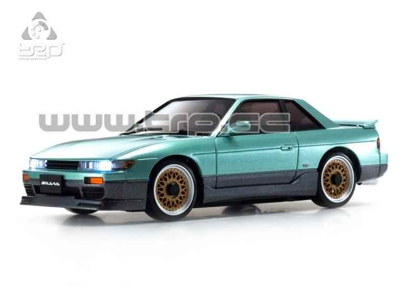 Kyosho Mini-Z ASC MA-020 NISSAN SILVIA S13 Aero Green Body Set(K