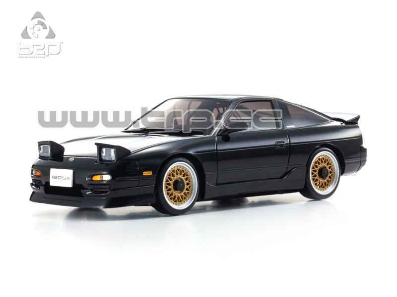 Kyosho Mini-Z ASC MA-020 NISSAN 180SX Aero Black Body Set(Kyosho