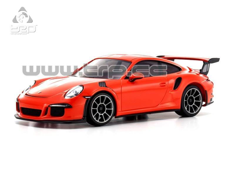 Kyosho Mini-Z ASC MR-03N-RM Porsche 911 GT3 RS Body Set (Orange)