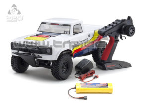 OUTLAW RAMPAGE 1:10 EP 2WD TRUCK (KT231P) T2 BLANCO READYSET