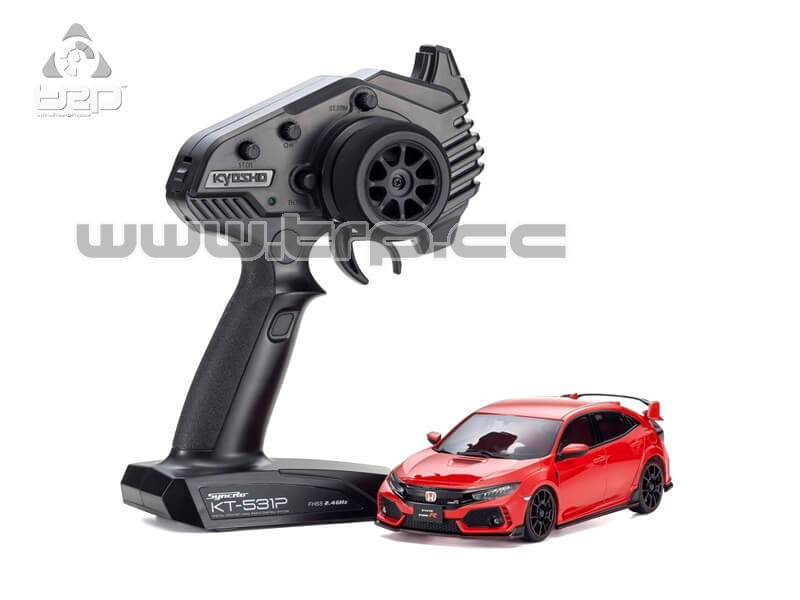 Mini-Z FWD Honda CIVIC TYPE R Flame Red (MA-03F/KT531P)