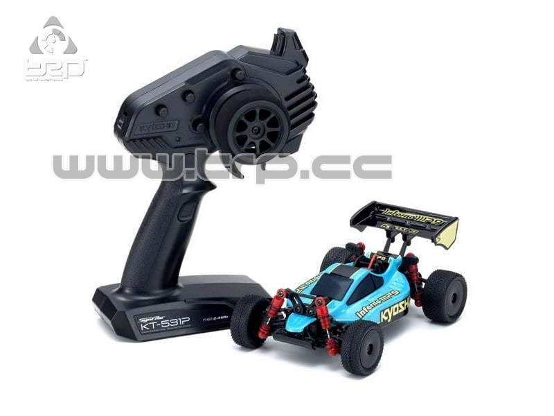 Kyosho Mini-Z Buggy Readyset Inferno MP9 Verde/Negro