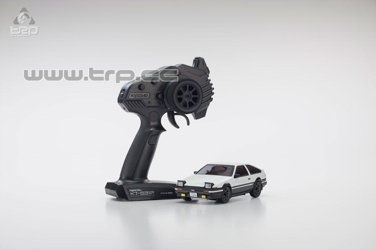 Mini-Z AWD Toyota Sprinter Trueno AE86 InitialD (MA-020/KT531P)