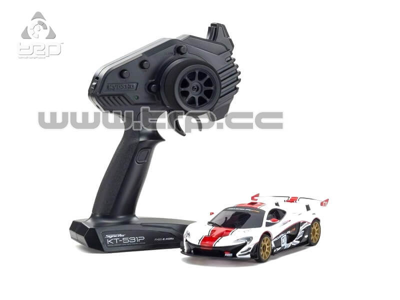 Mini-Z RWD McLAREN P1 GTR WHITE/RED (W-MM/KT531P)