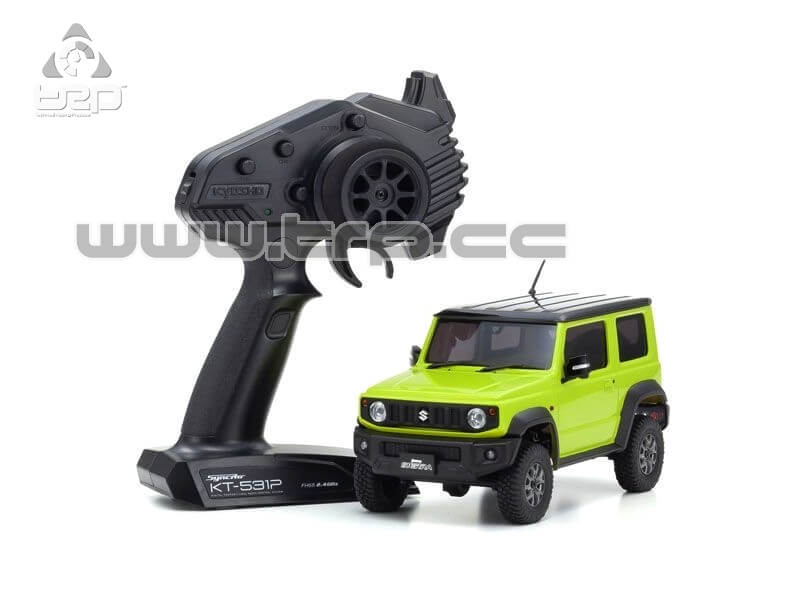 Kyosho MINI-Z 4x4 Suzuki Jimny Sierra Kinetic Yellow - RTR