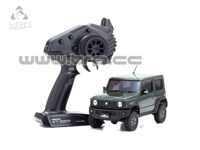 Kyosho MINI-Z 4x4 Suzuki Jimny Sierra Jungle Green - RTR