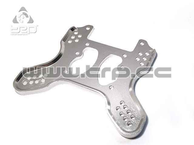 GPM Aluminium Rear damper plate for HPI Trophy