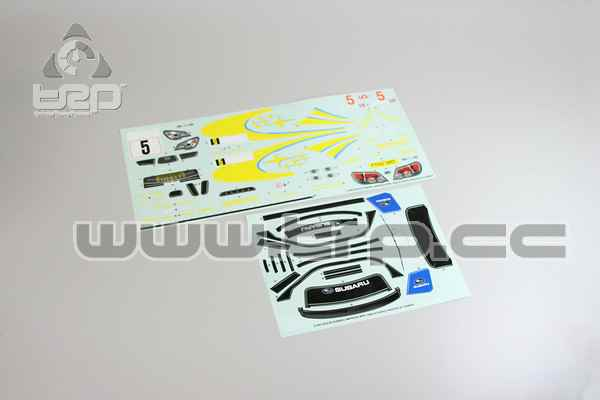 Kyosho Subaru Impreza WRC 2006 Adhesives