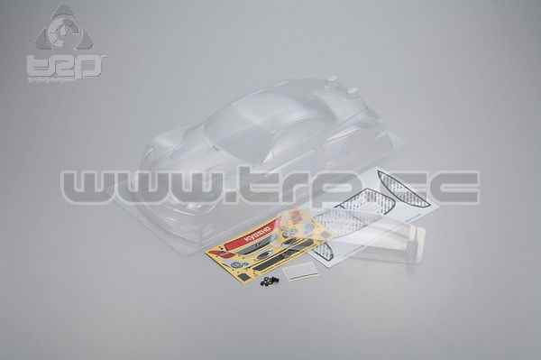 Kyosho Pure Ten Lexus SC430 Body Lexan Clear with Decals