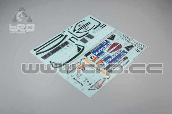Kyosho Inferno GT Nissan Calsonic Impul Z 2005 Adhesives